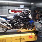 BMW K 1200S auf dem Leistungsprüfstand von Speed Company